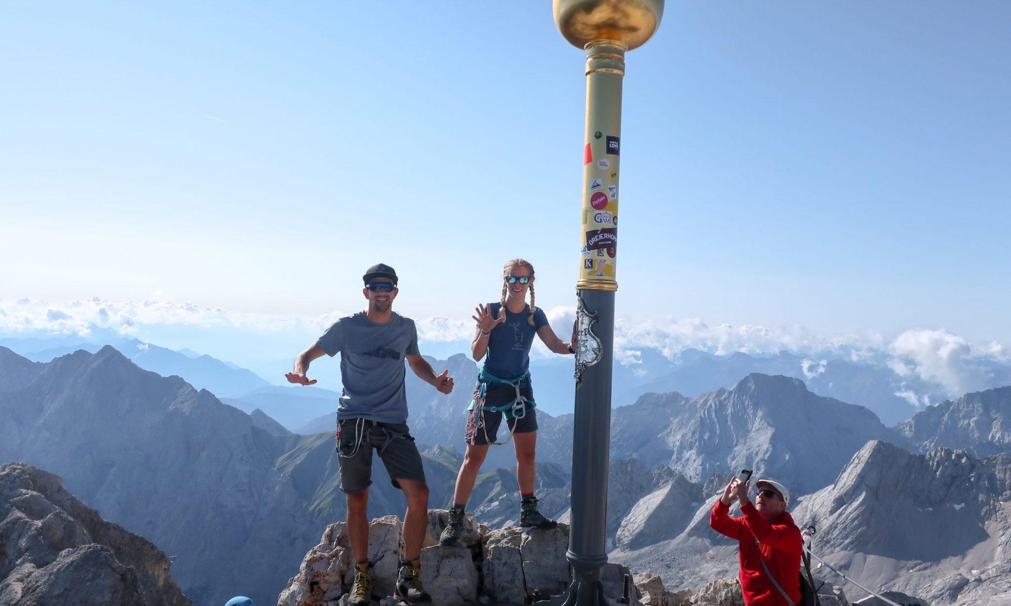 Zugspitze Gipfel Kreuz